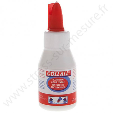 Colle textile étanche   - COLLALL TISSU - 50ml