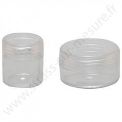 Coffret de rangement - 12 mini boites rondes - détail