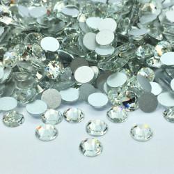 Strass en verre à coller - Cristal - 2mm à 8mm - détail