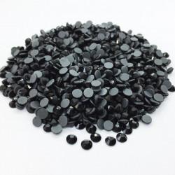 Strass thermocollant en verre DMC - Noir - 2mm à 6mm