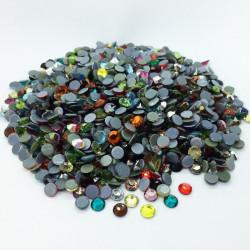 Strass thermocollant en verre DMC - Multicolore - 2mm à 6mm