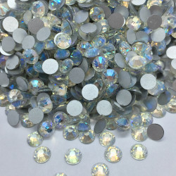 Strass en verre à coller - Irisé - 5mm - détail