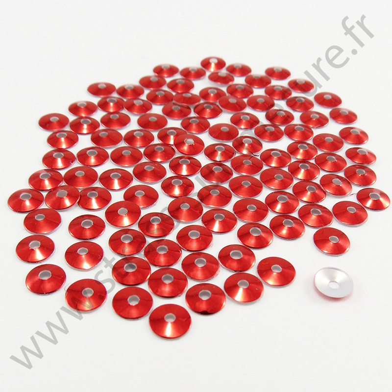 Sequin thermocollant - Rouge