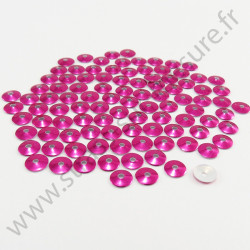 Sequin thermocollant - Rose fuchsia