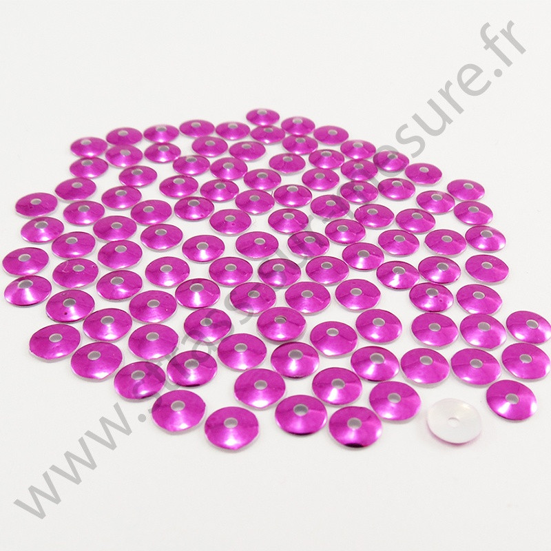 Sequin thermocollant - Rose