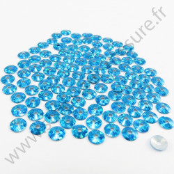 Sequin thermocollant - Turquoise hologramme
